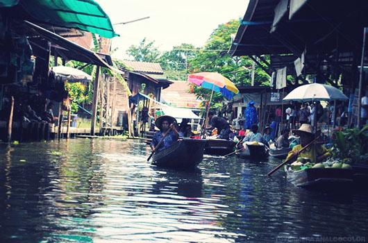 Damnoen Saduak Marché flottant bangkok