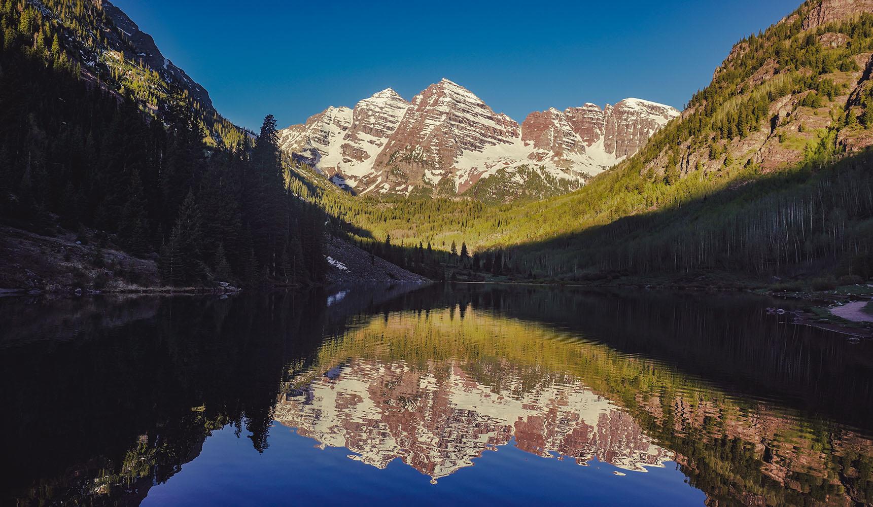 Colorado Maroon Bells Aspen road trip itinéraire