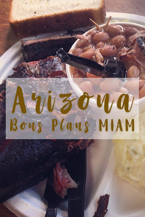 Arizona bons plans restaurant où manger Big John texas BBQ