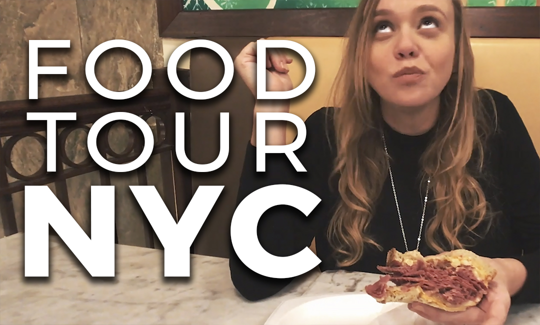 VIDEO OU MANGER A NEW YORK NYC BURGER PIZZA COOKIES BANANA PUDDING MAGNOLIA BAKERY SHAKE SHACK
