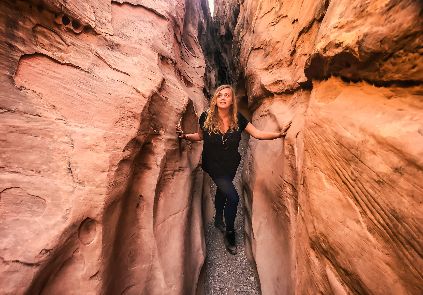 Little Wild Horse Canyon slot canyon utah randonnée usa road trip