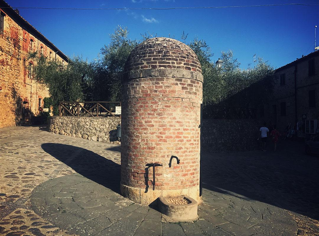 Monteriggioni toscane italie assassins creed