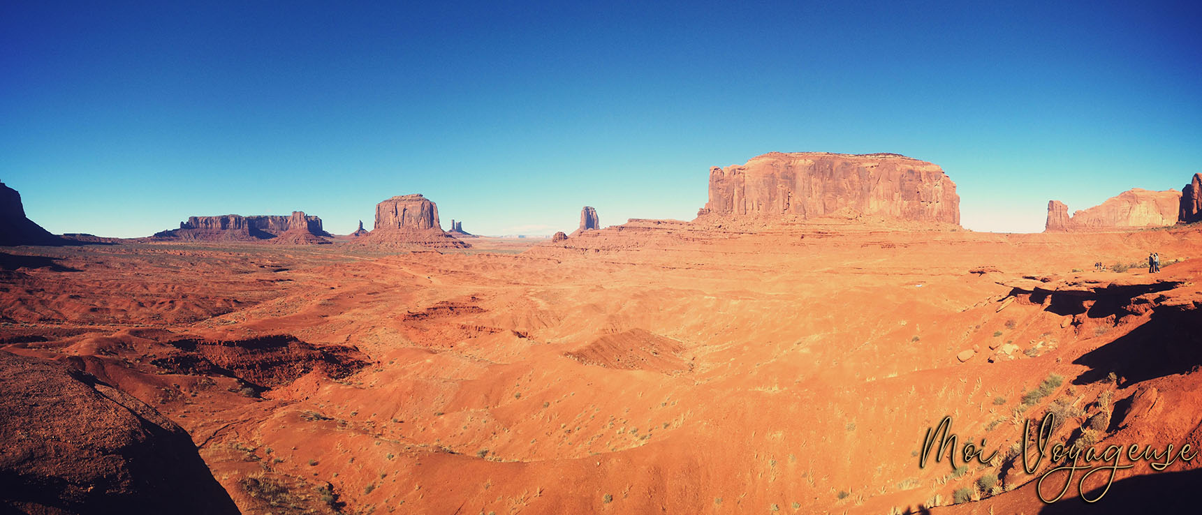 Monument Valley Arizona Road Trip USA john ford point