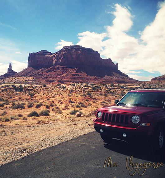 Monument Valley Arizona Road Trip USA Jeep