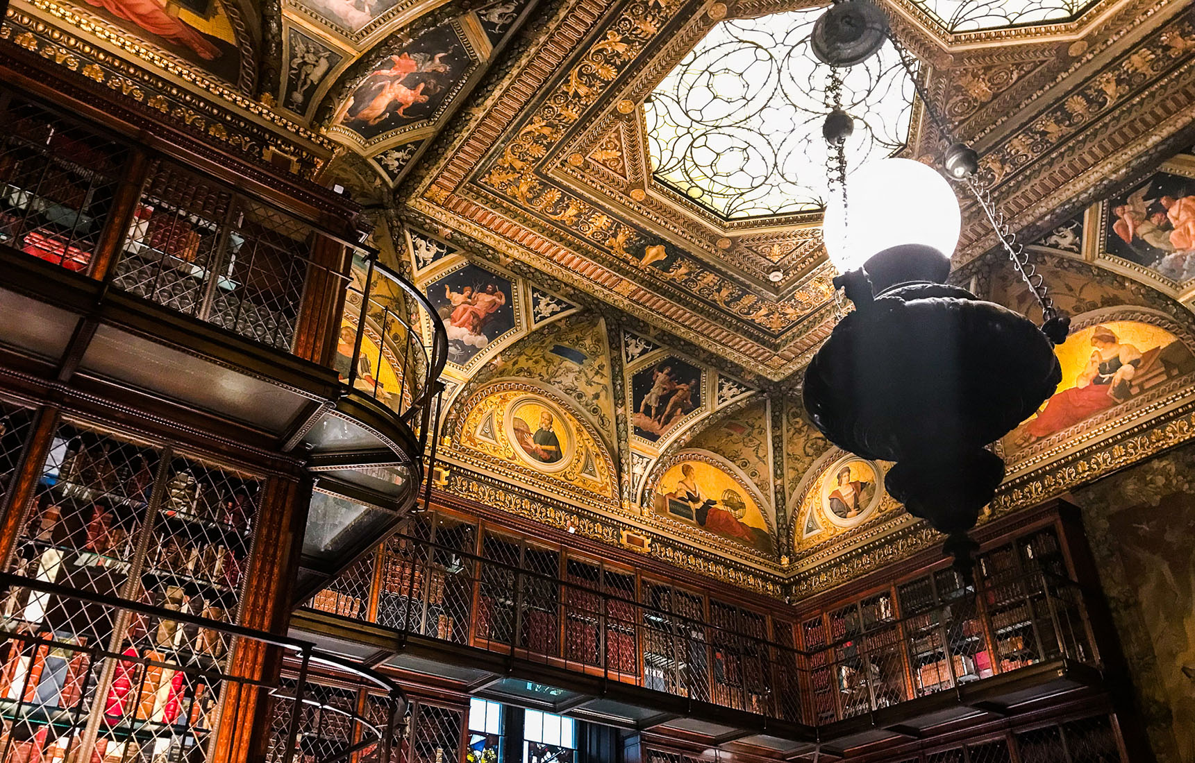 Morgan Library New York secret caché insolite bibliothèque