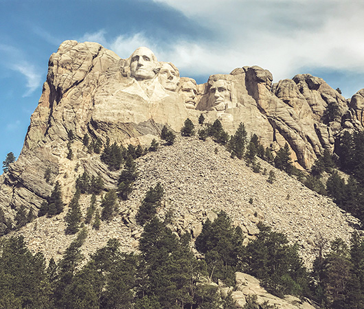 Black Hills South Dakota du Sud Mont Rushmore
