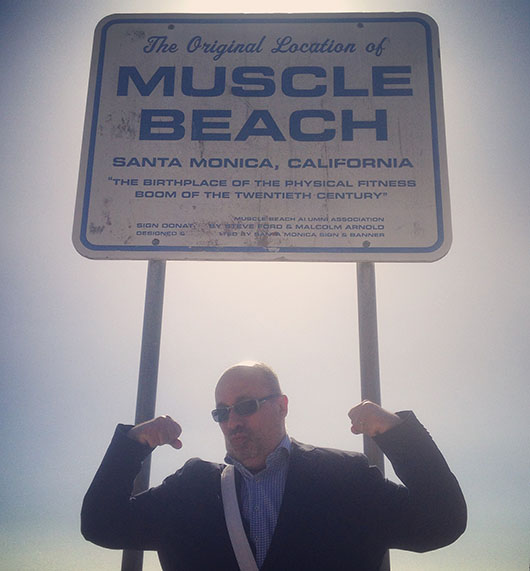 Muscle beach santa monica california