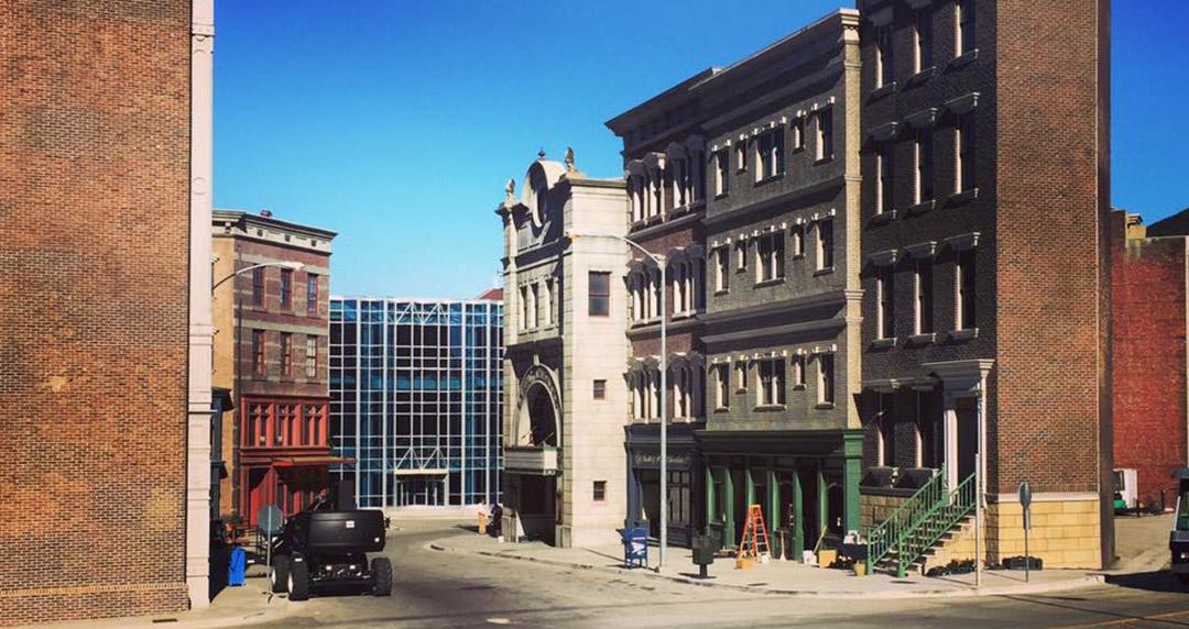 New york warner studios hollywood cinema tournage décor