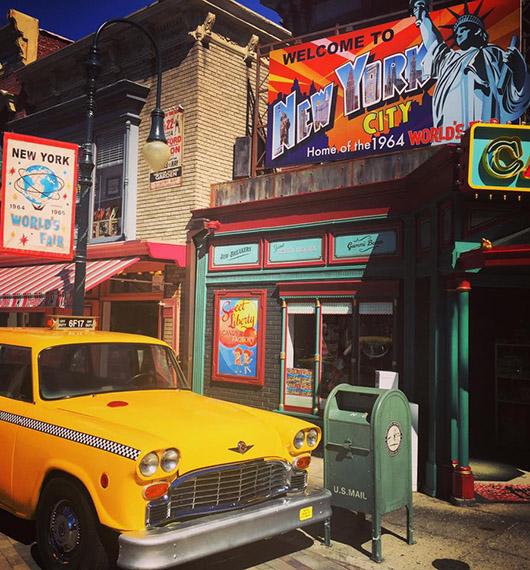 New York à Universal Studios hollywood Los Angeles