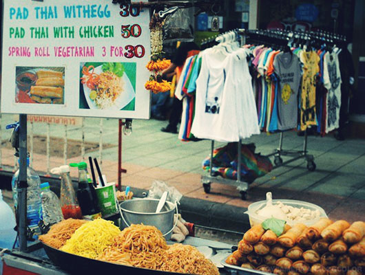 Pad thai Bangkok Khao San Road
