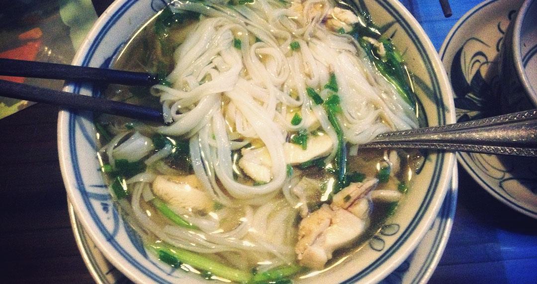 Pho boeuf nourriture restaurant hanoi vietnam orchid cooking class