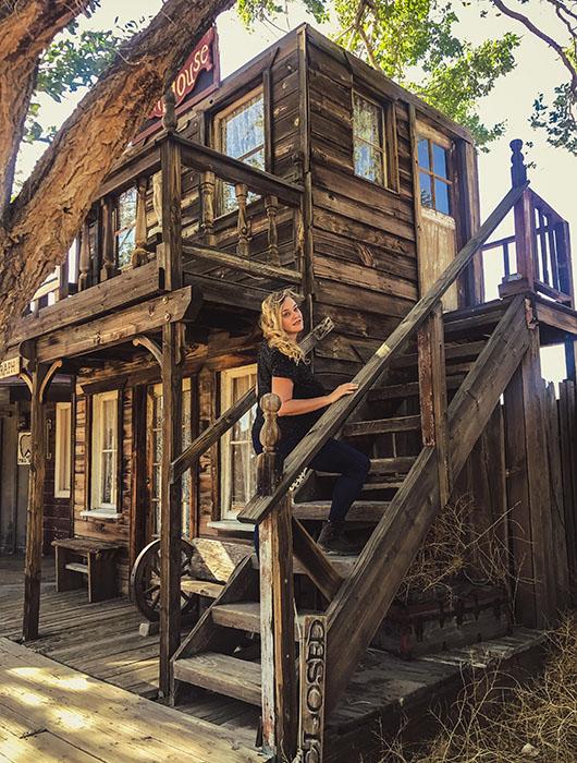 Pioneertown californie joshua tree yucca valley ghost town cinema cowboy