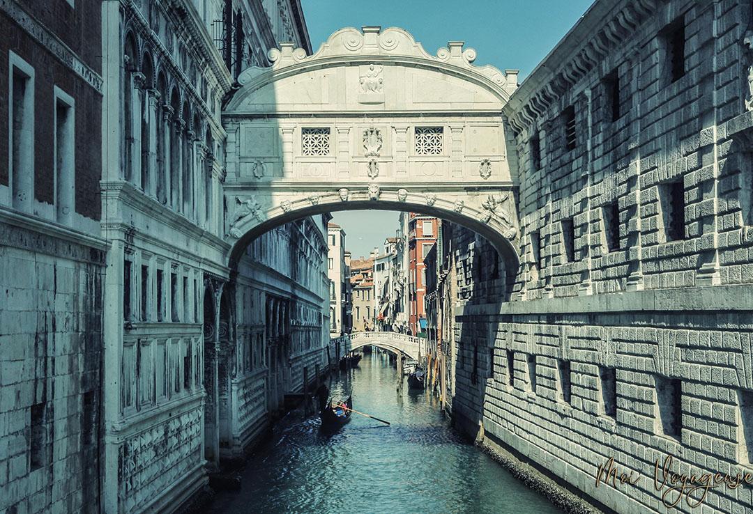 Pont des soupirs palais des doges venise italie europe