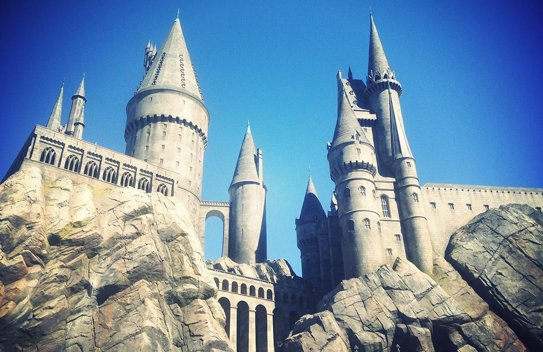 Poudlard Universal Studios Hollywood Harry potter