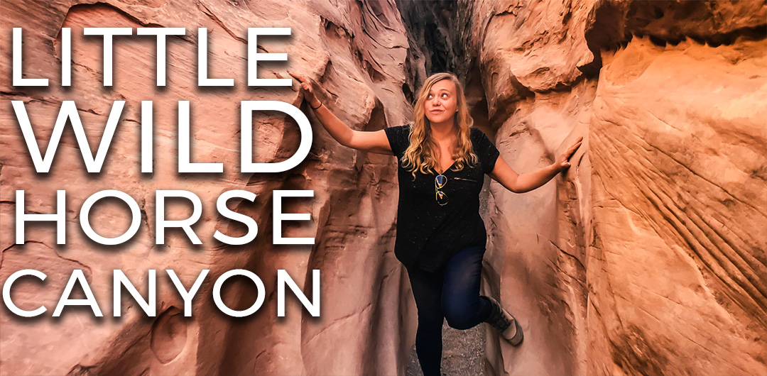 Little Wild Horse Canyon slot canyon utah randonnée usa road trip video vlog