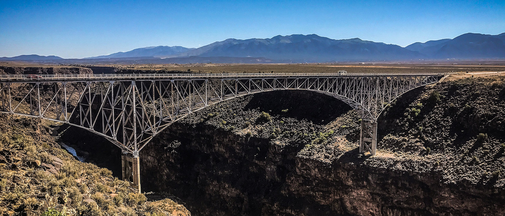 Rio grande gorge bridge new mexico taos