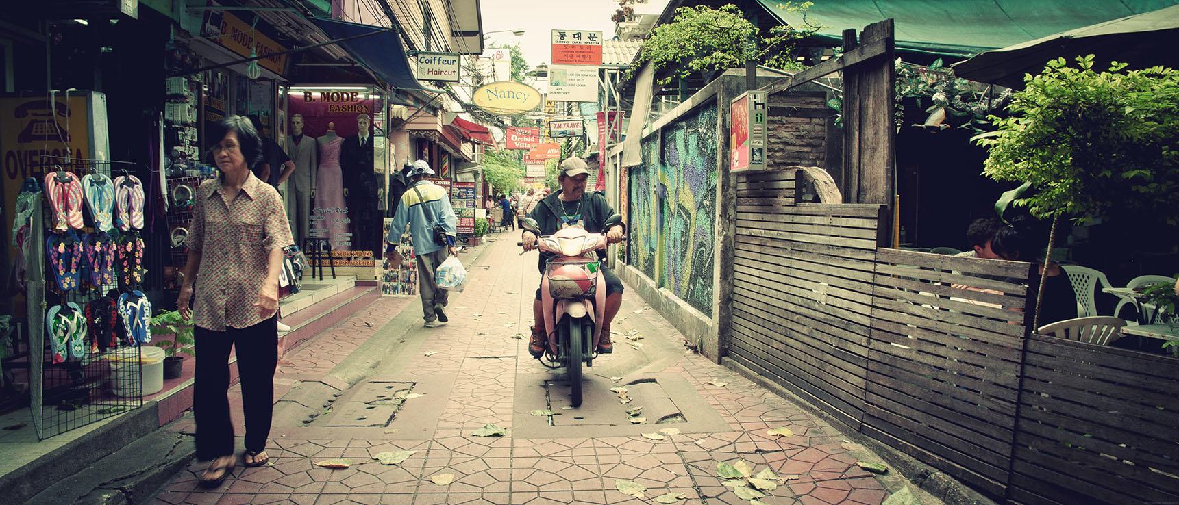 Rambuttri Road Bangkok Thailande