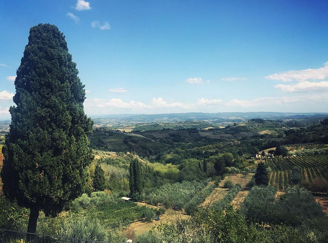 San Gimignano Toscane Italie
