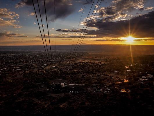 Sandia Peak tramway albuquerque nouveau mexique
