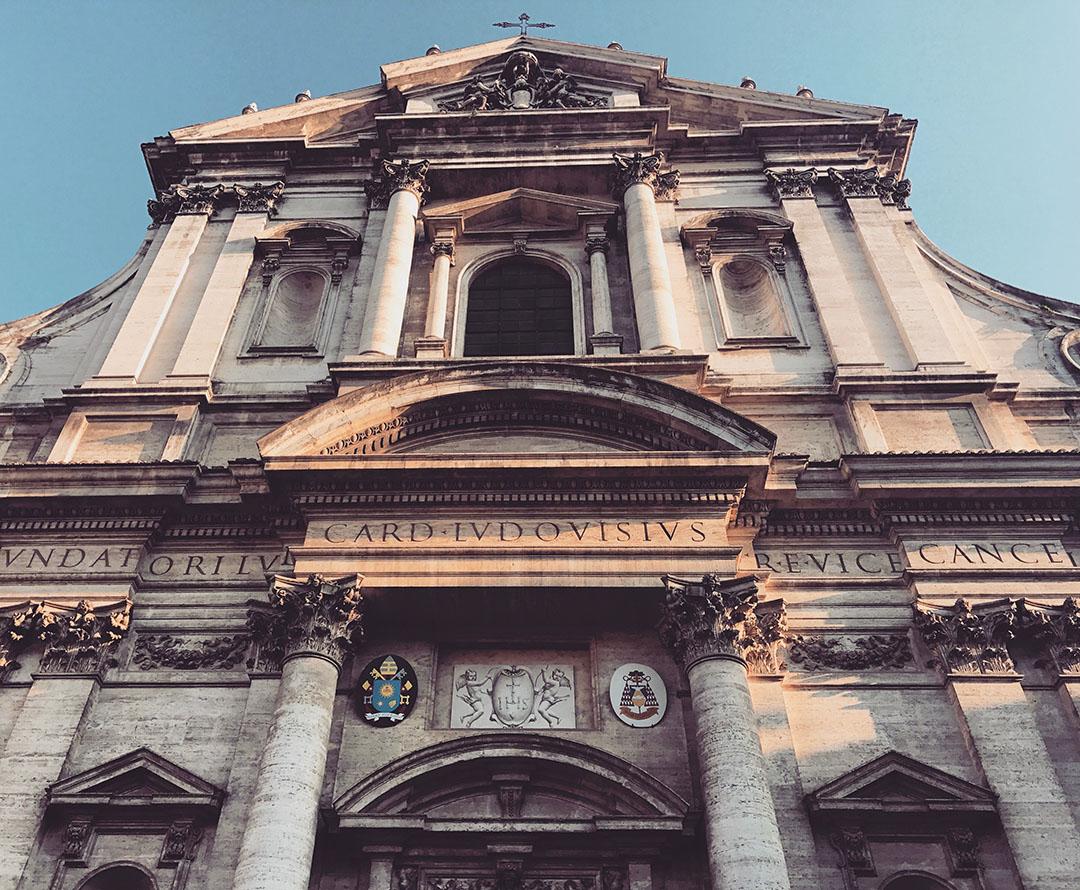San't Ignazio Eglise Church Roma Rome Italie Italy Italia 3