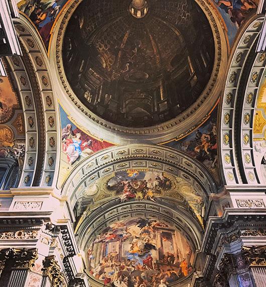 San't Ignazio Eglise Church Roma Rome Italie Italy Italia