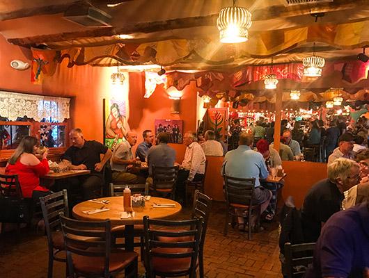 Restaurant La choza Santa Fe New Mexico