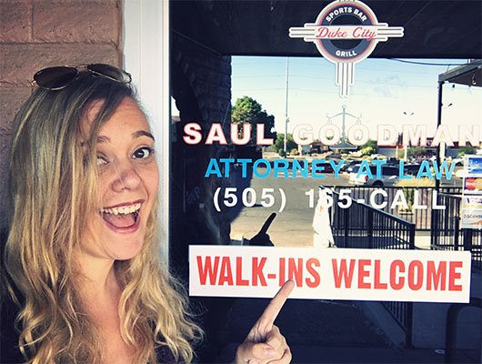 Breaking bad tour Albuquerque lieux de tournage saul goodman bureau better call saul