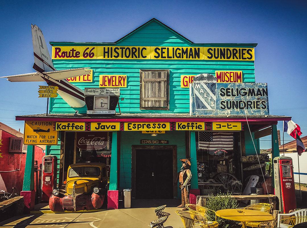 Seligman Arizona Route 66 Road trip USA