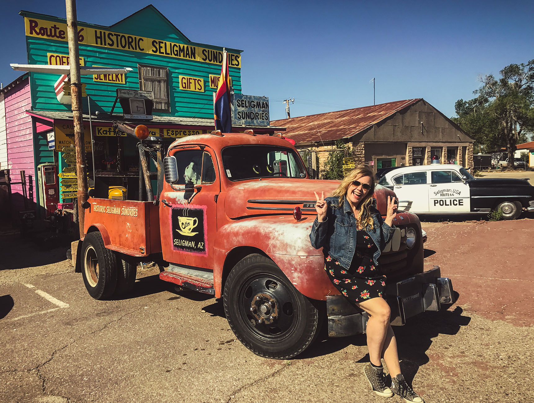 Seligman Arizona Route 66 Road trip USA
