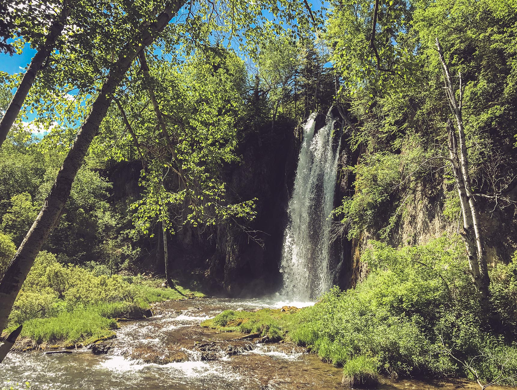 Black Hills South Dakota du Sud Spearfish Canyon Spearfish Fall