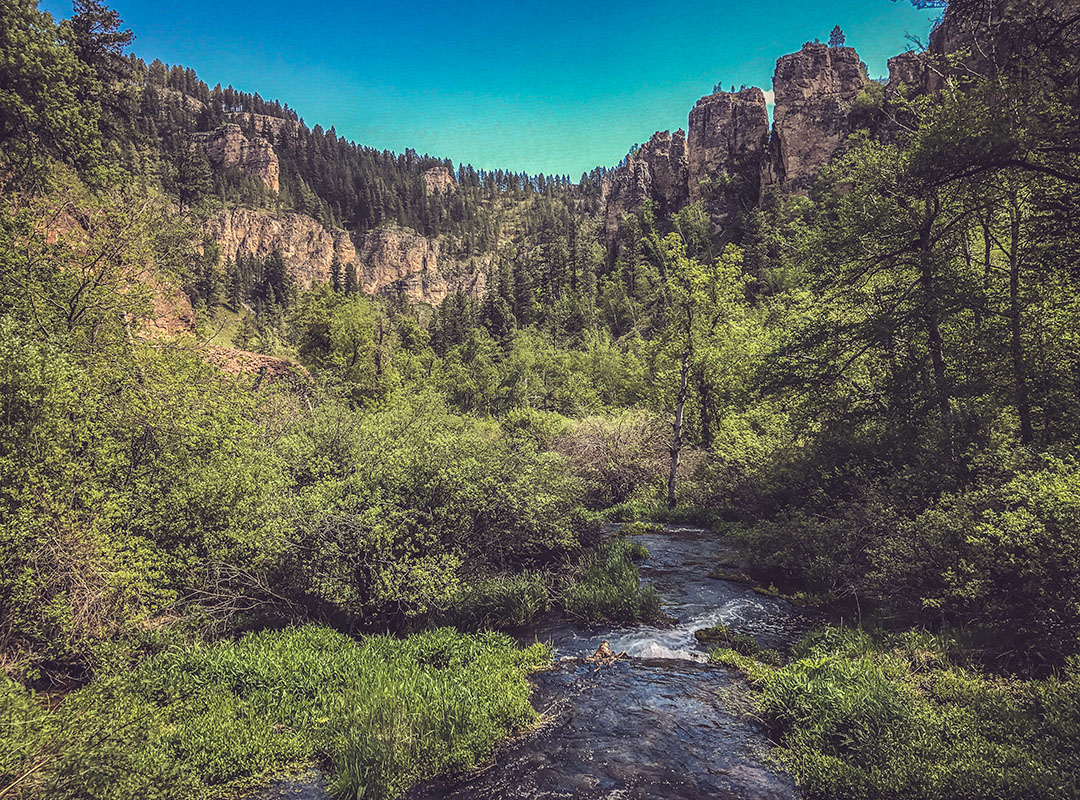 Black Hills South Dakota du Sud Spearfish Canyon