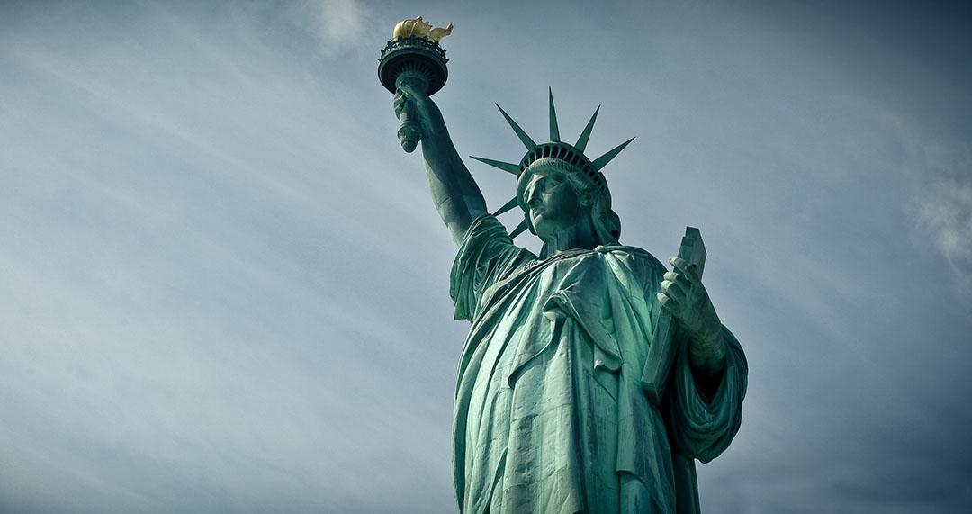 Statue of Liberty, Statue de la liberté, Manhattan New York Eiffel