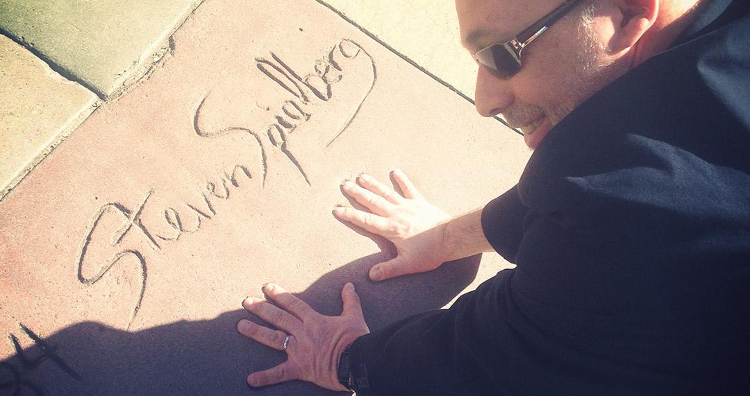 Steven Spielberg hollywood boulevard los angeles