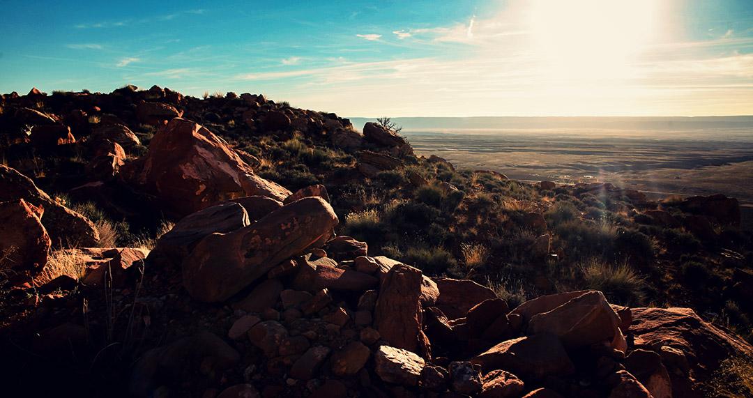 Sunset in Arizona Road Trip USA