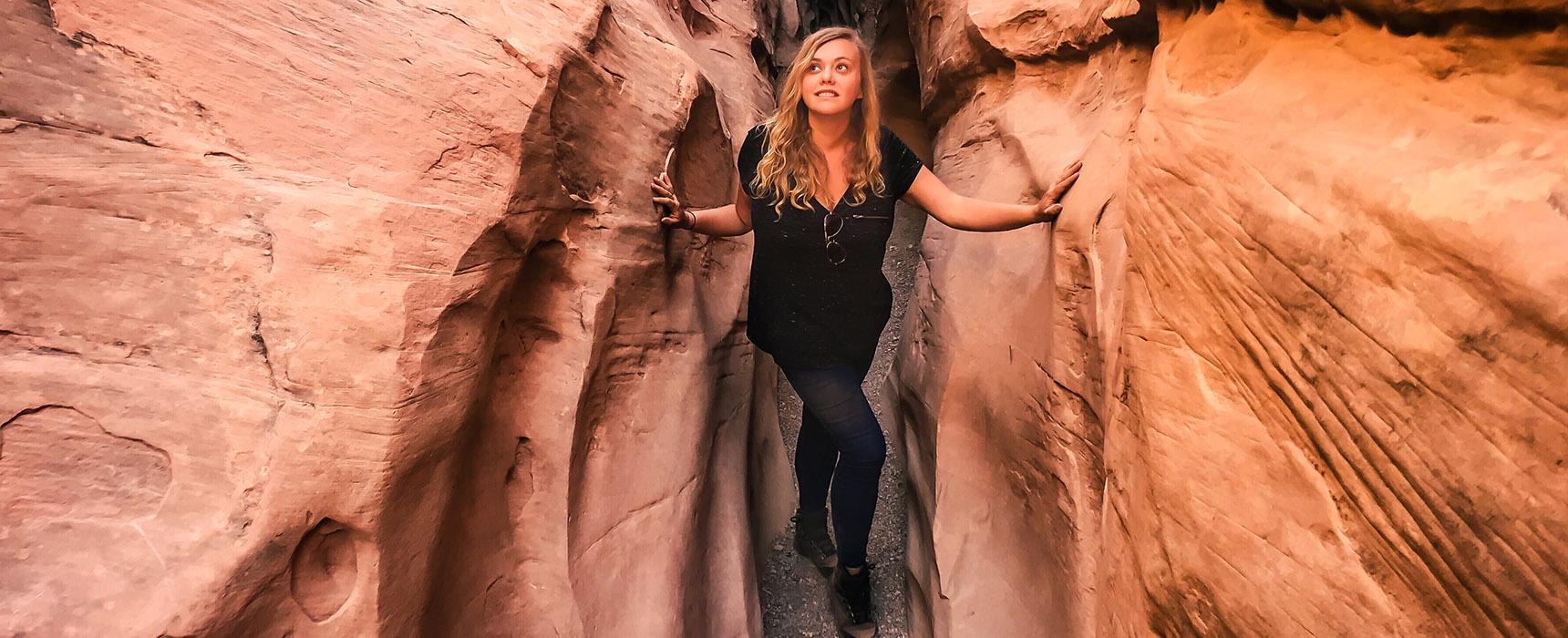 Little Wild Horse Canyon slot canyon utah randonnée usa road trip
