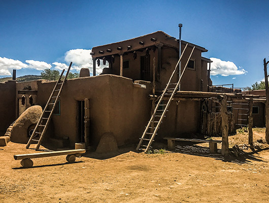 Taos pueblo unesco heritage site new mexico