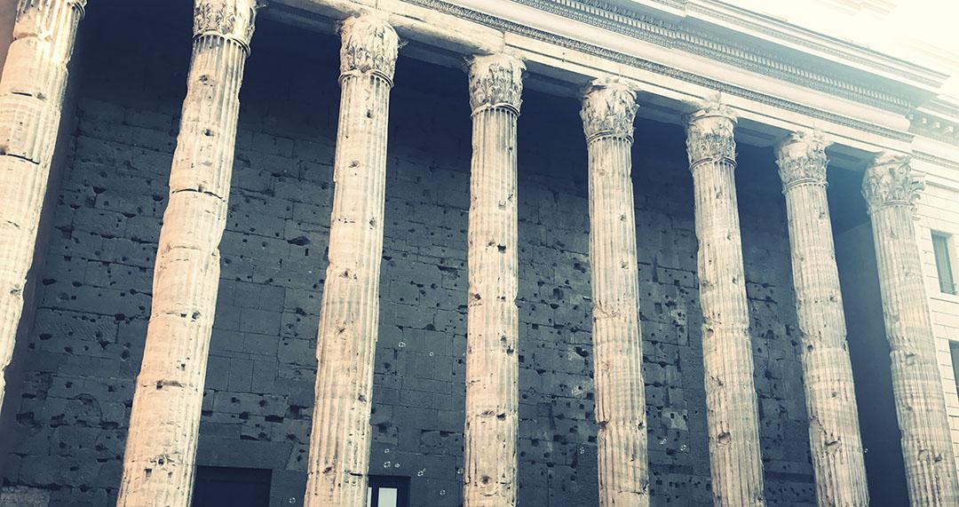 Temple Hadrien roma rome italie italia italy