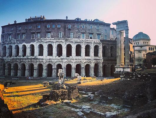 Theatre Marcello Rome Italie