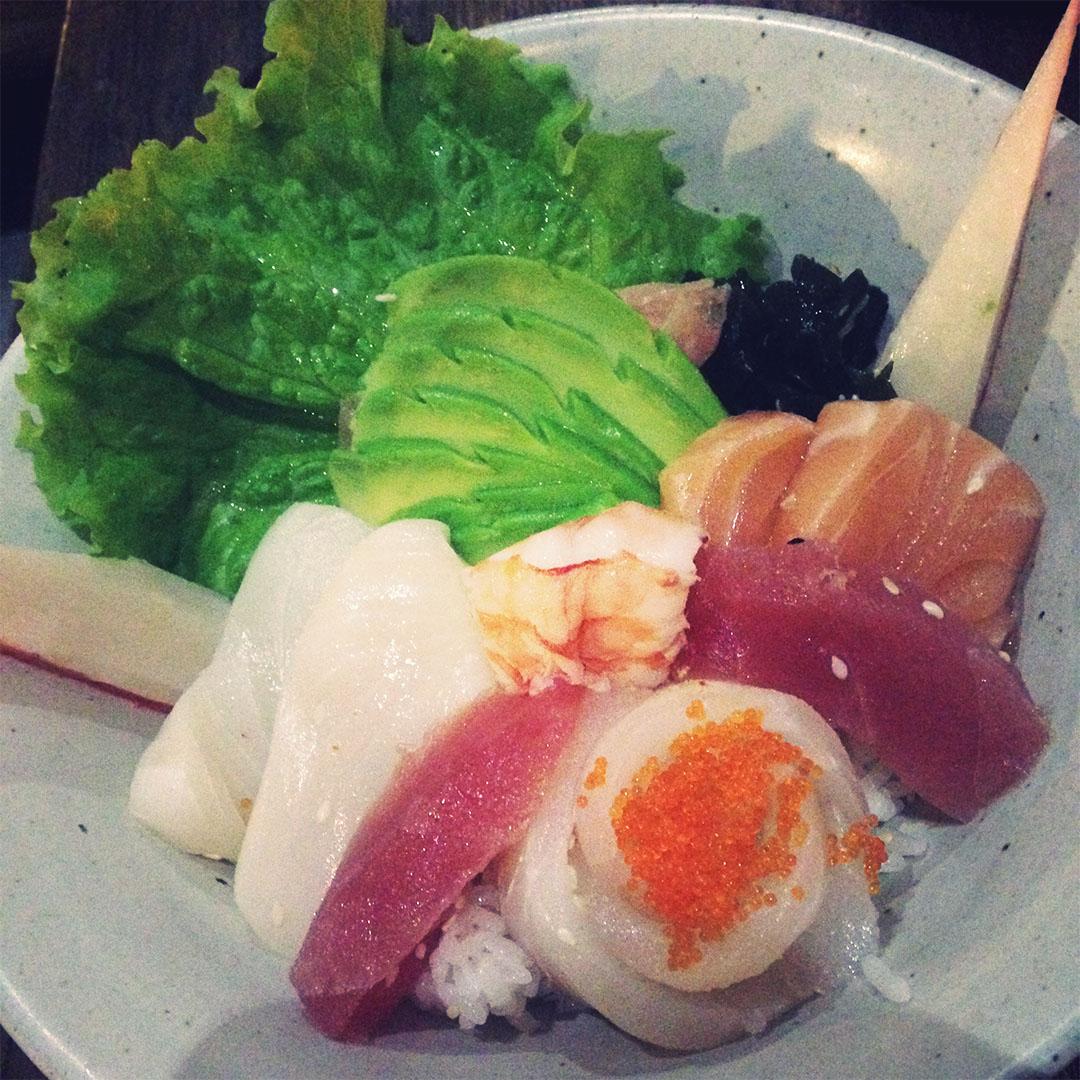 Toro sushi ubud bali indonésie restaurant japonais