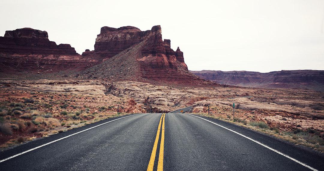 Utah Route 95 road trip USA