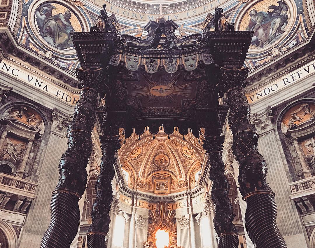 Vatican Basilique saint pierre nef