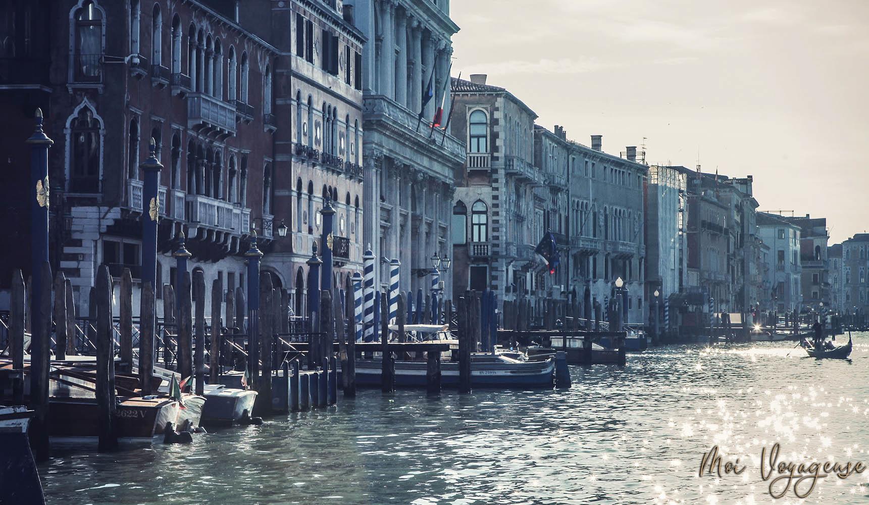 Grand Canal de Venise Italie Europe