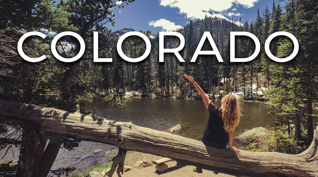 Colorado Video Vlog USA road trip itinéraire