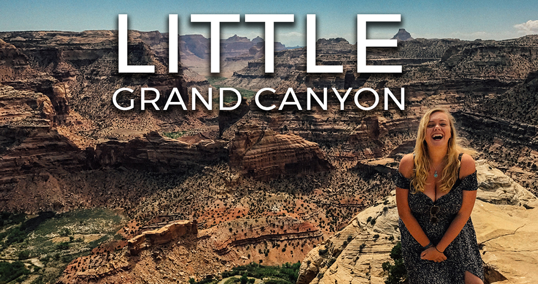 Little Grand Canyon Utah road trip USA Video Vlog