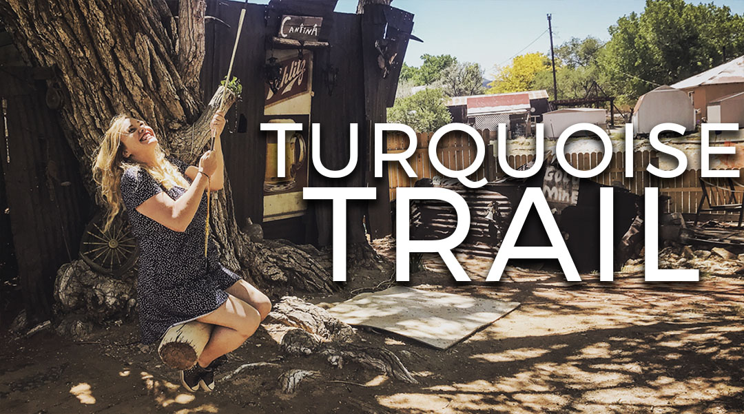 Video Turquoise trail New Mexico Madrid Los Cerillos Golden Leroy Gonzales