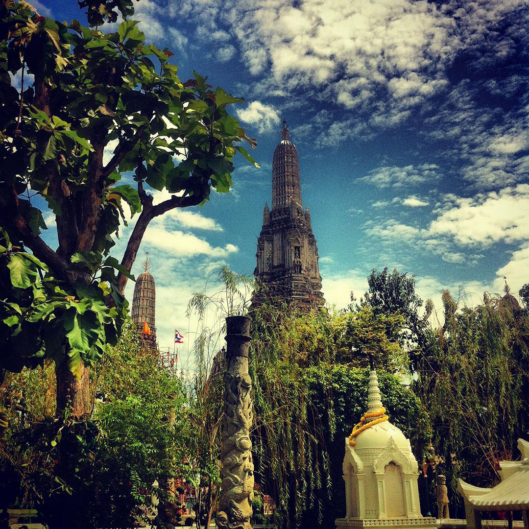 Wat arun temple bangkok thailande