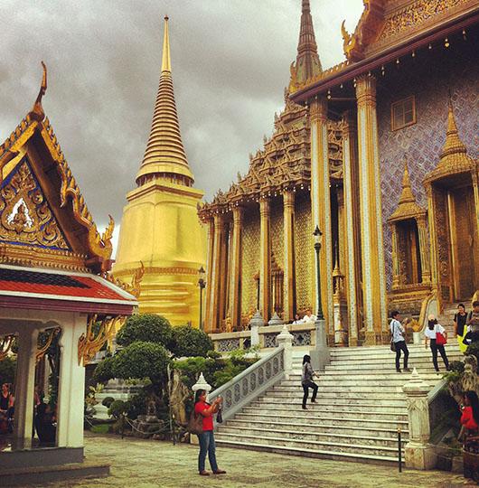 Wat phra keo great palace bangkok thailand