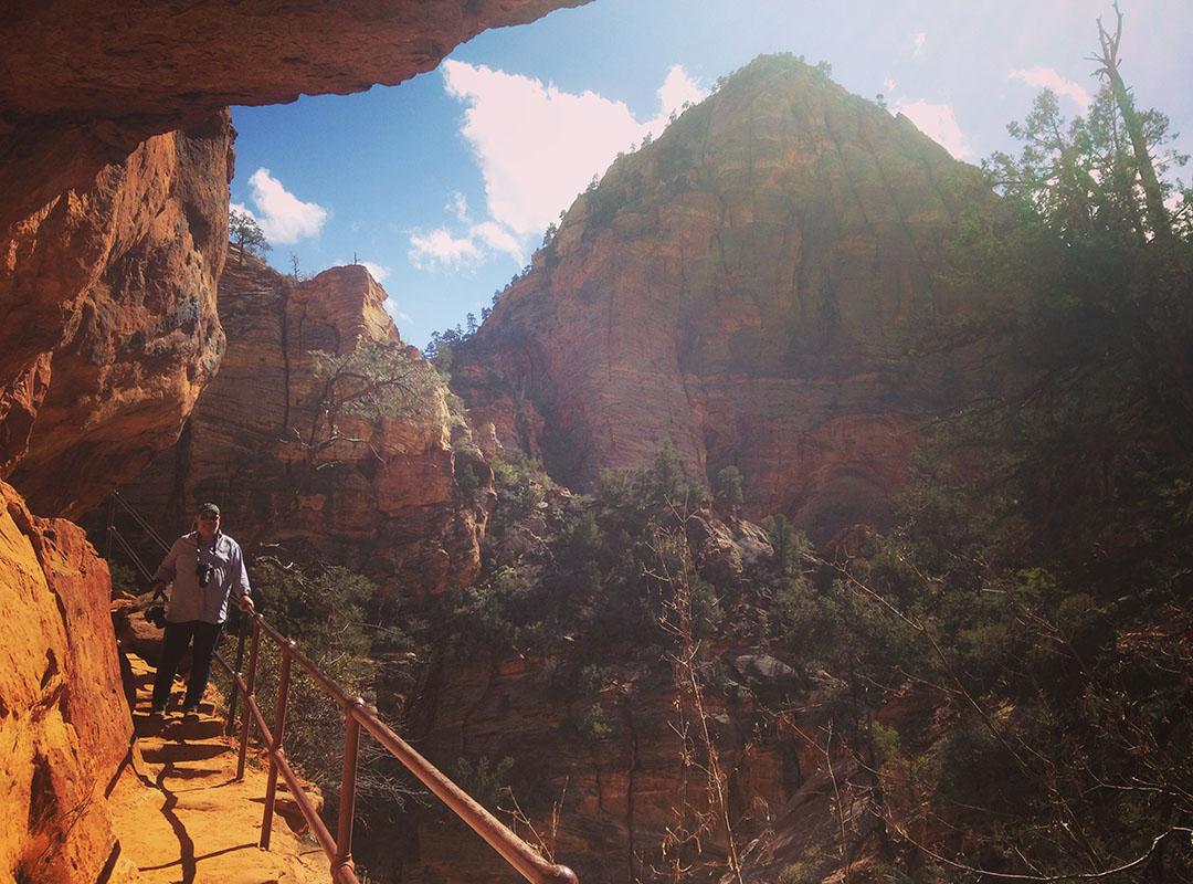 Zion national park utah road trip usa